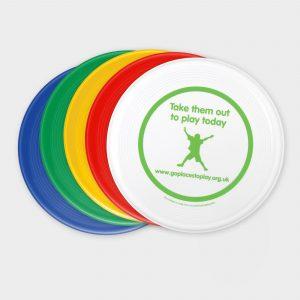Der Green & Good Frisbee aus recycelten Verpackungen