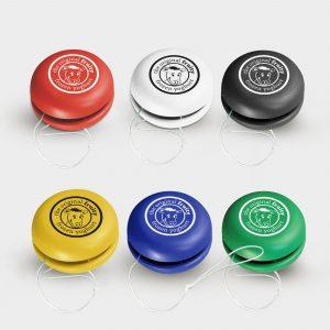 Das Green & Good Yo-Yo aus recycelten CD-Hüllen