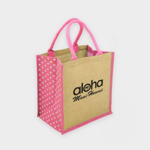Brighton Jute Polka Dot Design (Pre Printed)