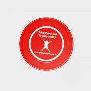 The Green & Good Medium Recycled Plastic Frisbee Red