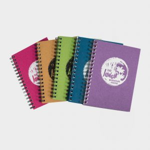 The Green & Good A6 Notebook with Cairn recycled card