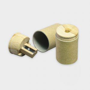Taille crayons en carton et bois certifié durable