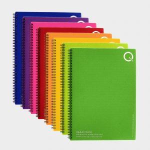 A4 Polypropylene Notebook - Carnet recyclé