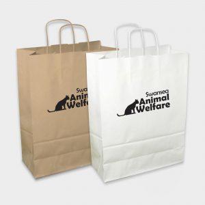 Large paper Boutique bag - Sac en papier durable