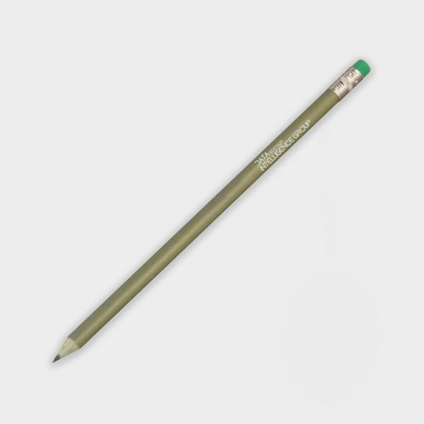 The Green & Good Recycled Money pencil with eraser