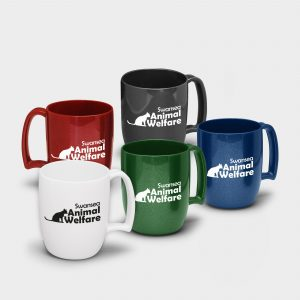 The Green & Good Recycled Plastic Non Chip Coffee Mug