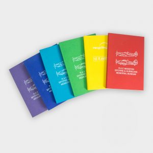 The Green & Good A4 Perfect bound recycled notebook