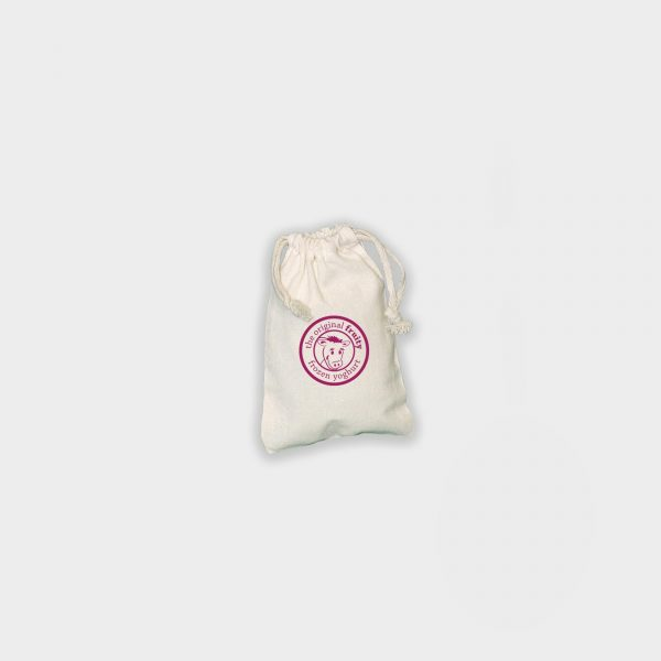 The Green & Good 100% unbleached natural cotton drawstring pouch / bag