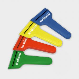 The Green & Good Recycled T-Shaped Ice Scraper with rubber strip