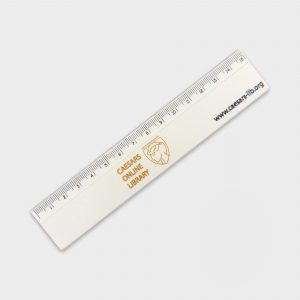 Recycled 15cm Ruler Printed full colour