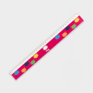 Recycled 30cm Ruler - printed full colour