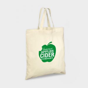 The Green & Good Ethically sourced Organic cotton bag with short handles