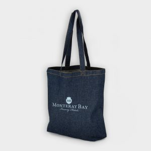 The Green & Good Carnaby Denim Shopper is made from navy blue denim. Sturdy and stylish bag with long shoulder handle. Ethically produced in India in an audited factory. 8oz / 280gsm cotton. Oekotex 100 Standard.