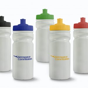 Recycled Finger Grip Water Bottle 500ml