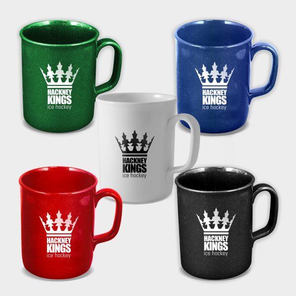 Mug Theo - Mug en plastique recyclé