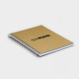 Wire Notebook A6