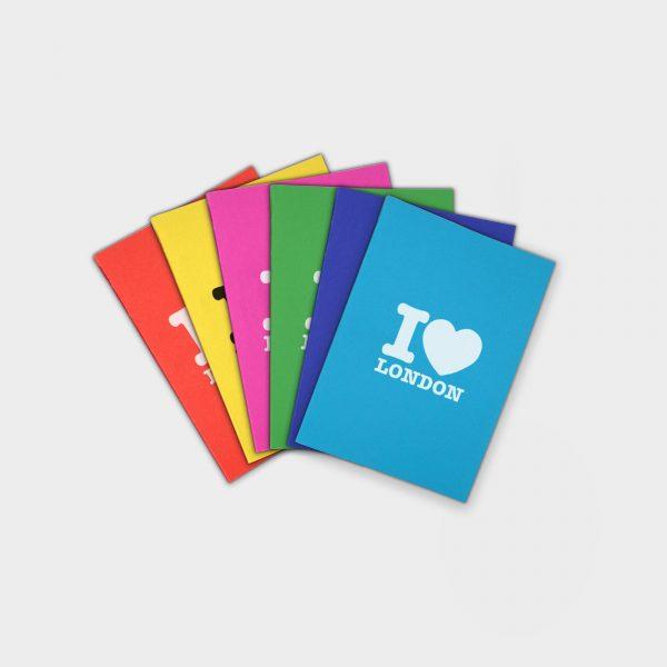 Till Receipt A6 Perfect Bound Notebook - Carnet recyclé