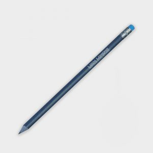 The Green & Good Recycled Denim Pencil is the ideal give-away for a fashion, clothing or denim brand. It is made from 30% recycled denim and 70% recycled polystyrene. Comes in a blue colour with a silver-blue ferule and a blue eraser. Made in the USA.
