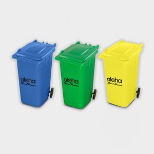 The Green & Good Recycled Plastic Wheelie Bin Pen Pot