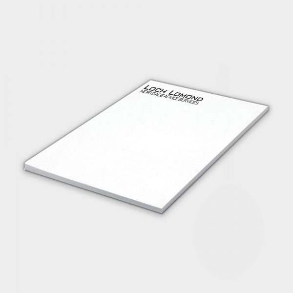 The Green & Good A4 Notepad made from recycled paper 50 Sheets