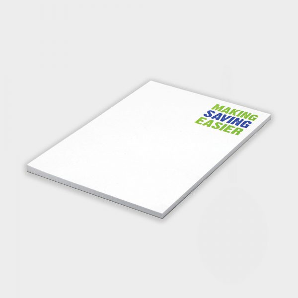 The Green & Good A6 Notepad made from recycled paper, 50 Sheets