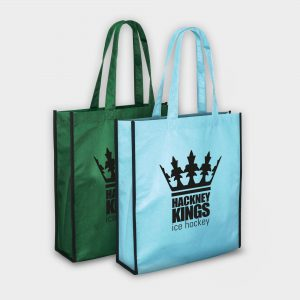 The Green & Good  Recycled PET grocery shopping bag with long handles