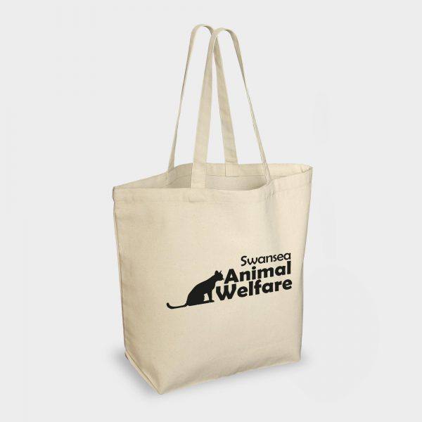 The Green & Good Bayswater Canvas Shopper is made from natural & unbleached cotton-canvas. Heavy duty bag with long shoulder handle with bottom gusset. Ethically produced in India in an audited factory. 10oz / 280gsm cotton. Oekotex 100 Standard.