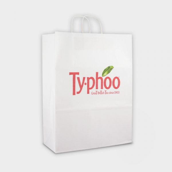 Large Sustainable Carrier bag - Full colour Digital print